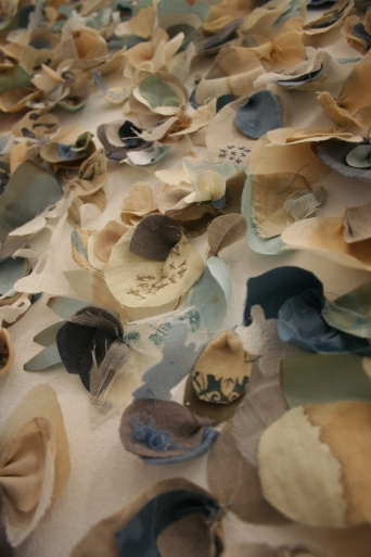 Petal installation. Collaboration with Jan Garside. More about this collection here
