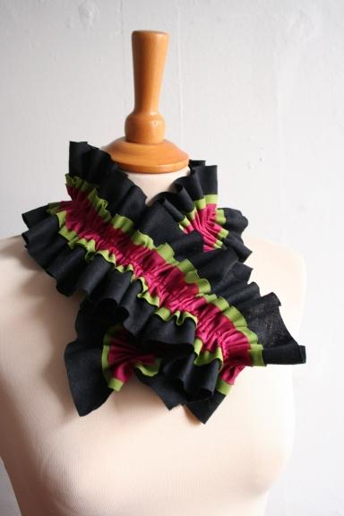 Rutfle scarf pattern