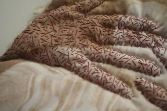 Detail of 'Julia Bate' quilt. More details here
