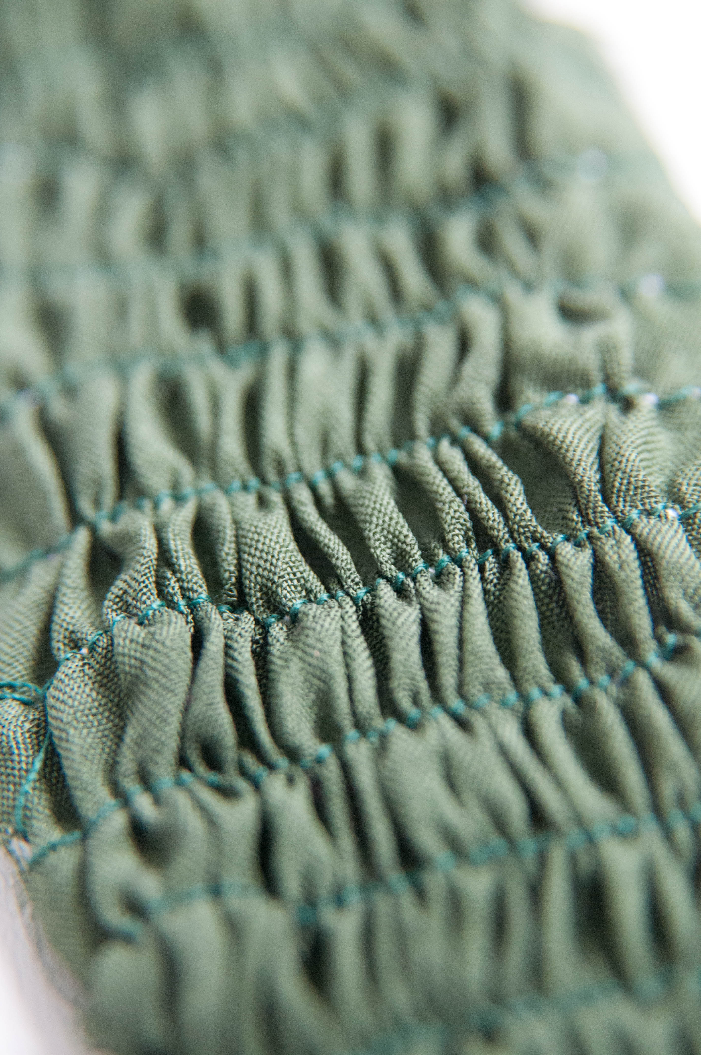 Stitch gather ruth singer for Textile fabrics