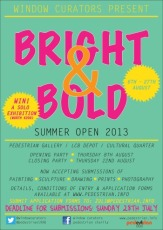 Bright & Bold leaflet