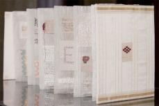 Book White linen side Jan Garside