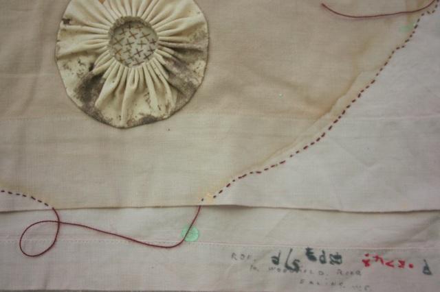 Charm Gown detail (Ruth Singer)