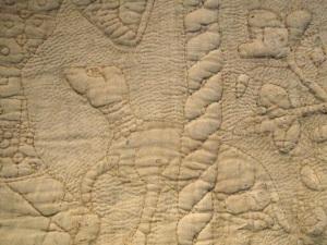 Detail of Tristan Quilt