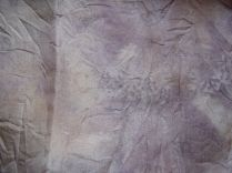 Silk with rose and iron