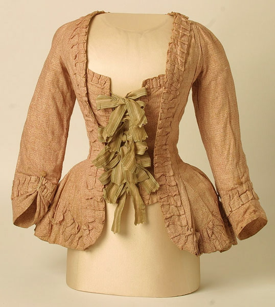 18th century Caracao (jacket) from Manchester Museums collection