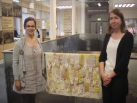 Handover in Harborough Library