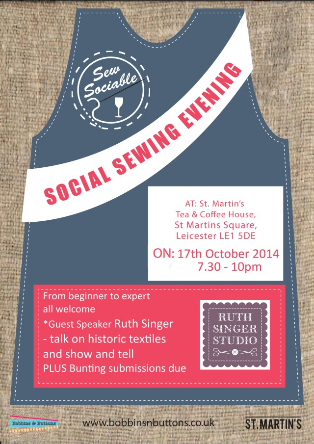 Sew Sociable October with Ruth Singer