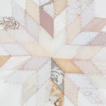 Ruth Singer: Star quilt work in progress