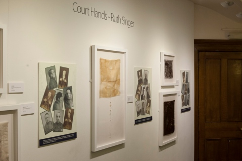 Criminal Quilts - Ruth Singer. Photo by Ashley Brown