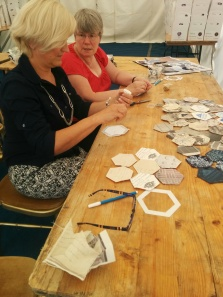 Workshop making patches