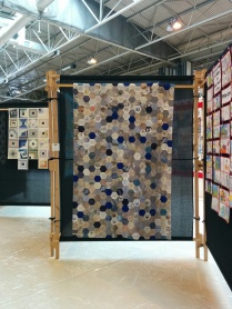 Finished quilt at Festival of Quilts