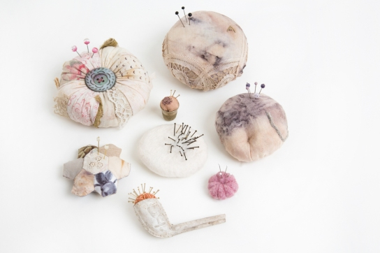 Ruth Singer Memorial Pincushions