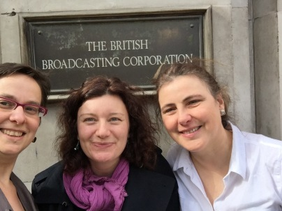 Ruth Singer, Turi King, Gillian McFarland