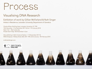 Process (DNA) exhibition Invite