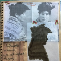 Ruth Singer Criminal Quilts sketchbook