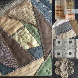 collaborative quilt : Ruth Singer Criminal Quilts