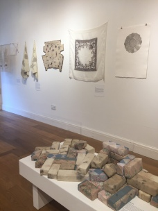 Ruth Singer Textile Traces at Llantarnam Grange Arts Centre