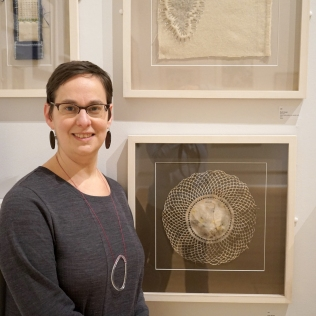 Ruth Singer at LSA Annual Exhibition Prize winner