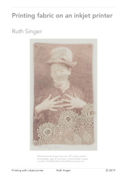 Ruth Singer. Print on fabric PDF for sale